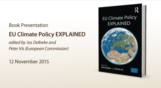 EU Climate POlicy Explained Book presentaition 12 November 2015