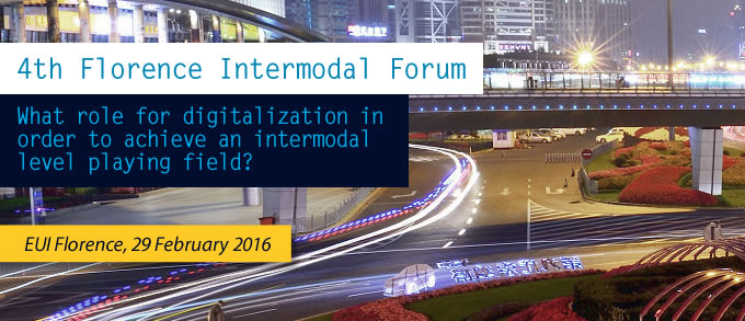 What role for digitalization in order to achieve an intermodal level playing field?