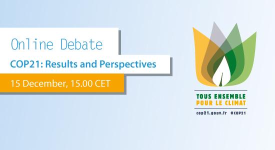 COP21 online debate
