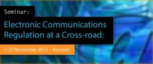 Electronic Communications Regulation at a Cross-road