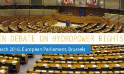 Open debate on hydropower rights