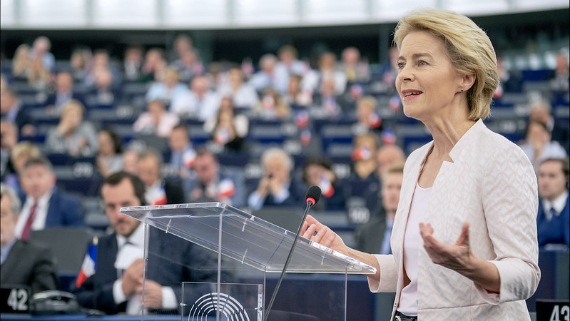 In a debate with MEPs, Ursula von der Leyen outlined her vision as Commission President.