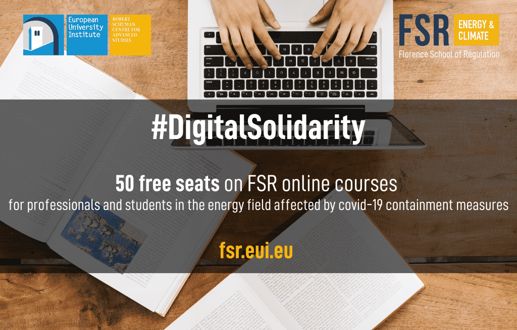 Digital Solidarity - free seats on FSR online courses