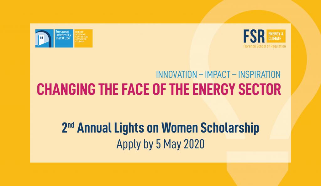 2nd Lights on Women Scholarship