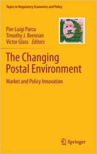 Book cover - changing postal environment