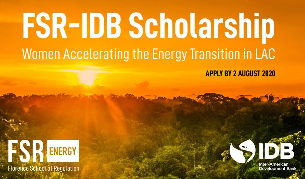 Scholarship: Women Accelerating the Energy Transition in LAC
