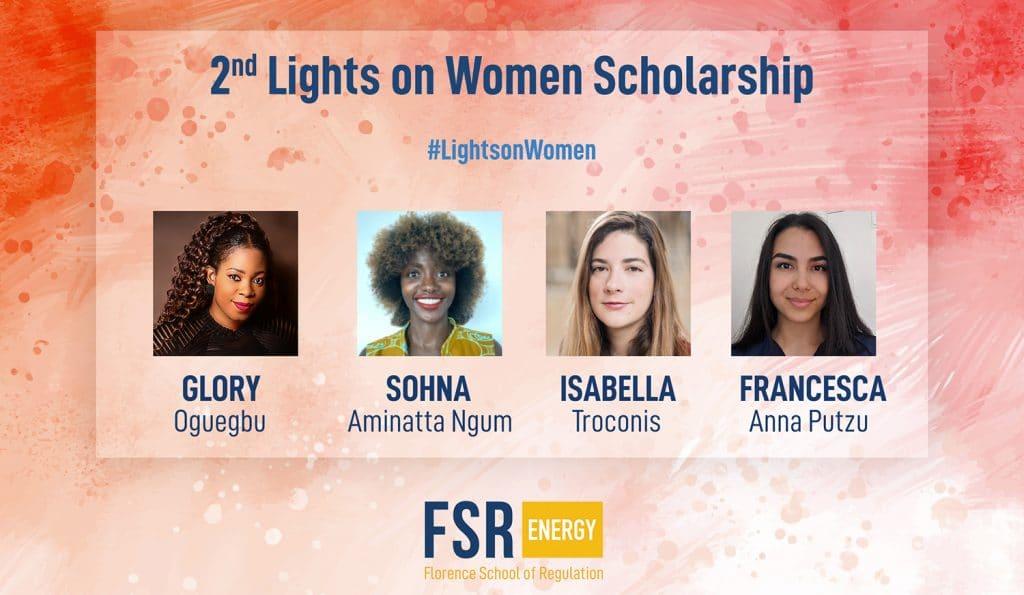 2nd Lights on Women Scholarship — Meet the recipients!