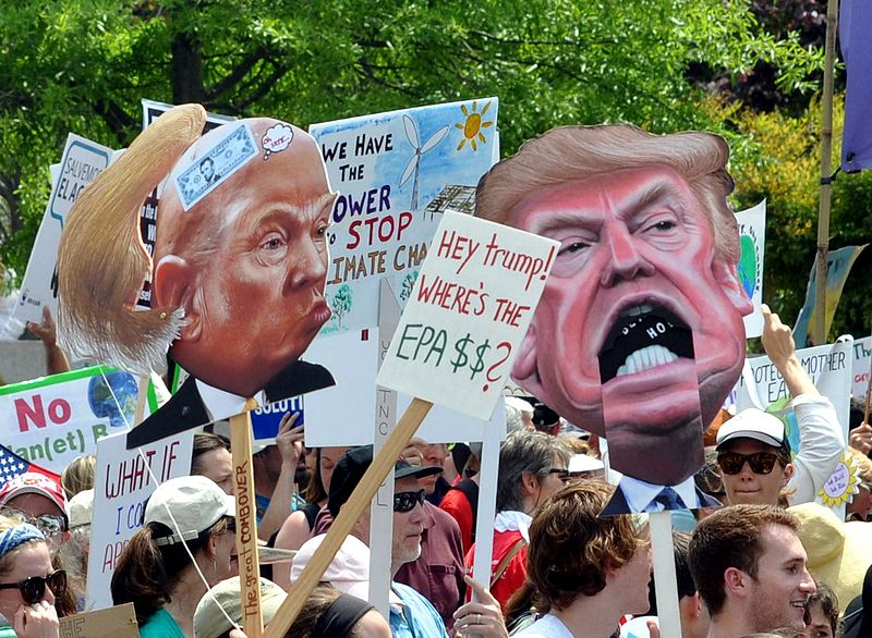 People's Climate March 2017 in Washington, D.C