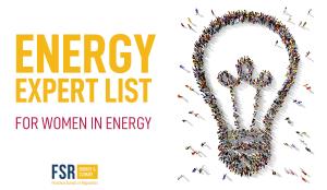 The Lights on Women Energy Expert List