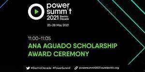 2021 Ana Aguado Scholarship winners