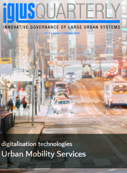 IGLUS Quarterly, Vol. 4, No. 3 – Digitalisation Technologies. Urban Mobility Services