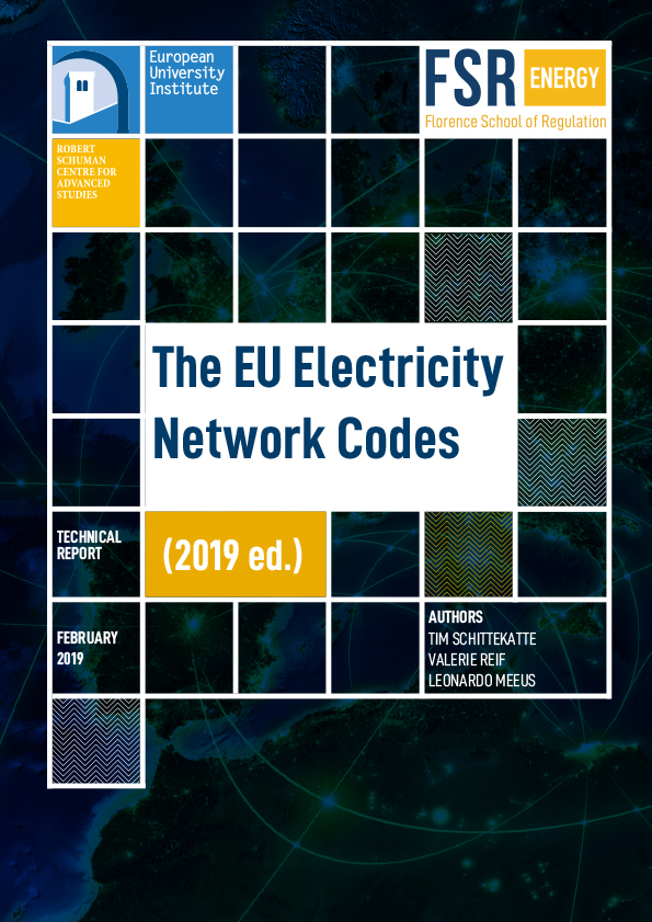 The EU electricity network codes (2019 ed.)