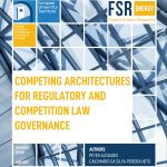 Cover picture of FSR new publication on Energy Competition Law