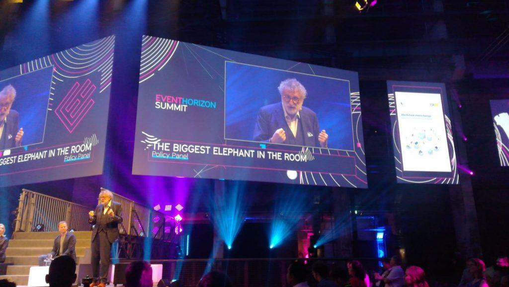 Jean-Michel Glachant guest speaker at blockchain energy summit, EventHorizon