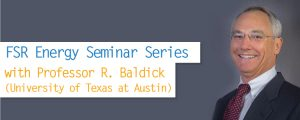 FSR Energy Seminar Series