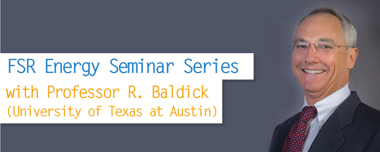 FSR Energy Seminar Series