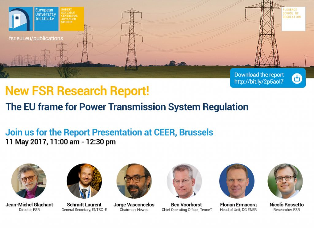 Moving the Electricity Transmission System Towards a Decarbonised and Integrated Europe