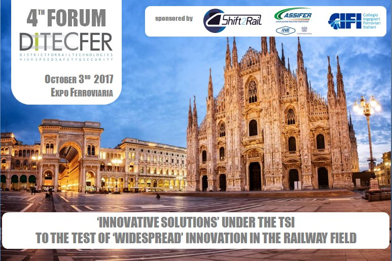 FSR presents at the Italian Rail Expo