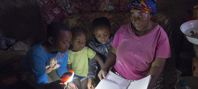 The Equality Switch: linking energy access and women's empowerment